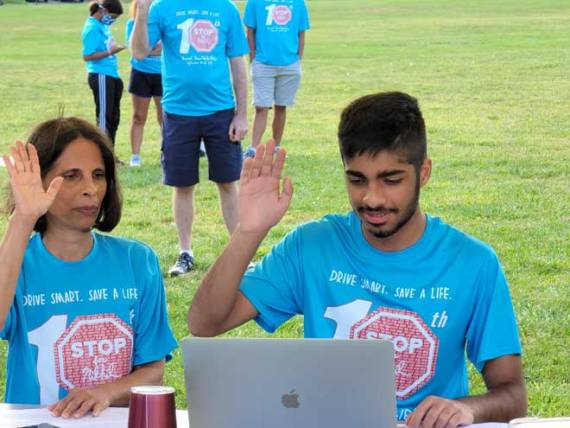 10th annual STOP For Nikhil kicks off Vision Zero Campaign for New Jersey
