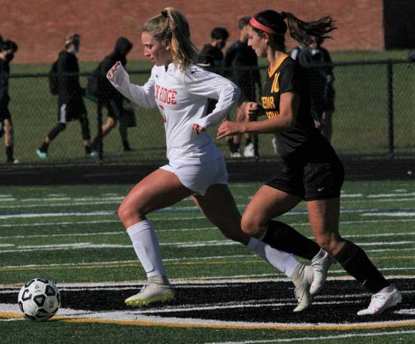 Ridgers girls soccer defeats Cedar Grove 10-0
