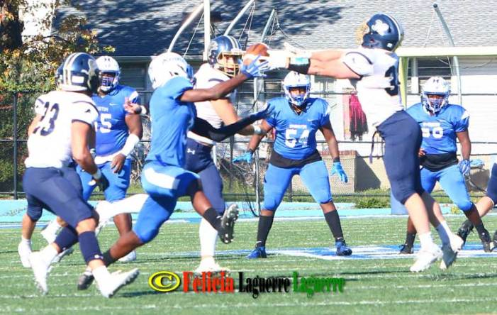Irvington football loses homecoming game to Pope John XXIII