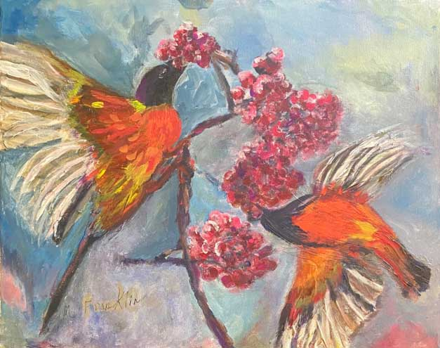 County recognizes 33 senior artists in annual juried art show