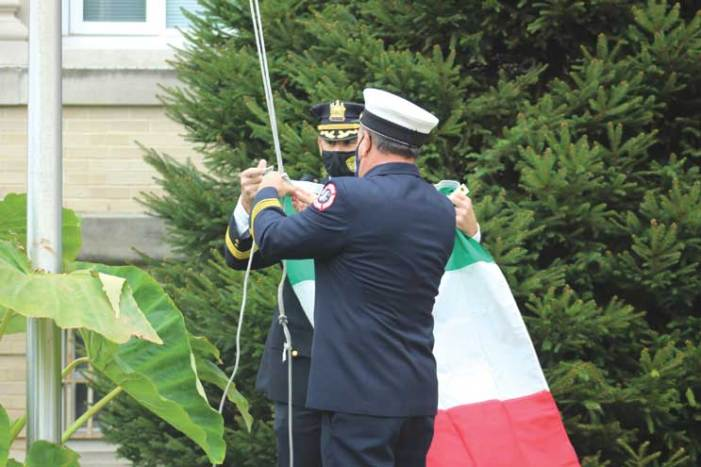 Nutley and Belleville celebrate Columbus Day