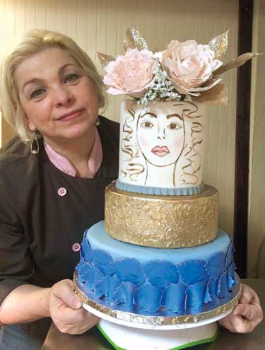 Nutley woman takes cake decorating to a new level