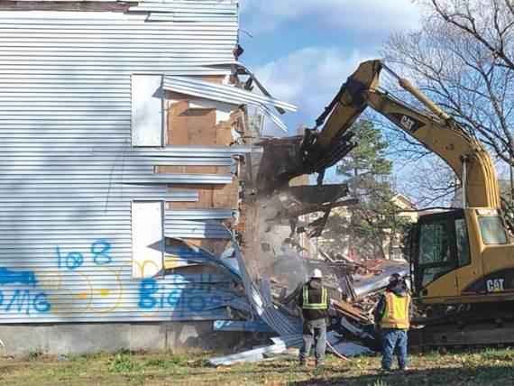 Demolition makes way for safer complexes in Orange