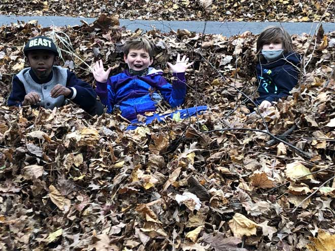 Autumnal fun in South Orange