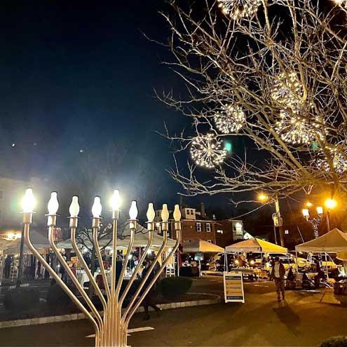 South Orange celebrates the Festival of Lights