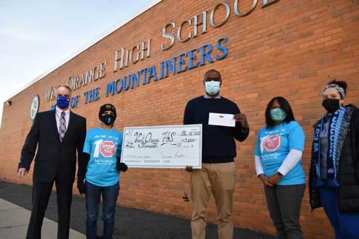 Nikhil Badlani Foundation awards $2,000 grant to West Orange High School