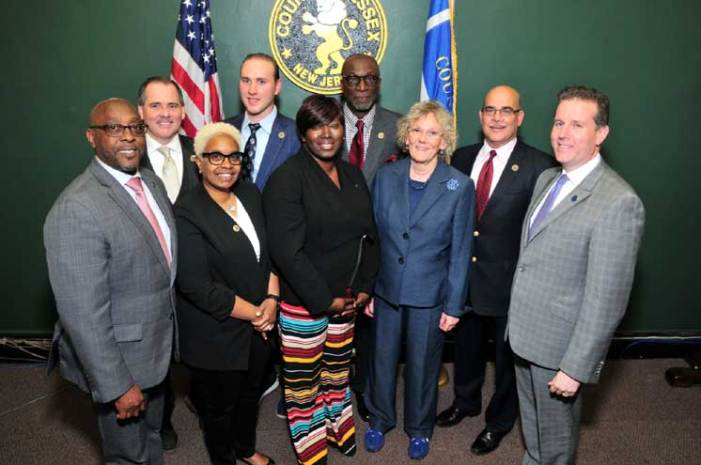 Essex County commissioners sworn in at 2021 organization meeting