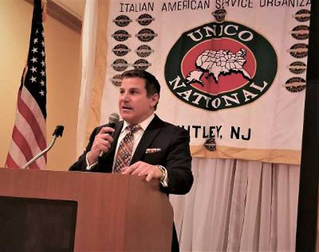 Nutley UNICO holds raffle drawing to raise money for scholarships
