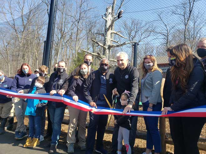 Turtle Back opens new bald eagle exhibit, welcomes Freedom to West Orange