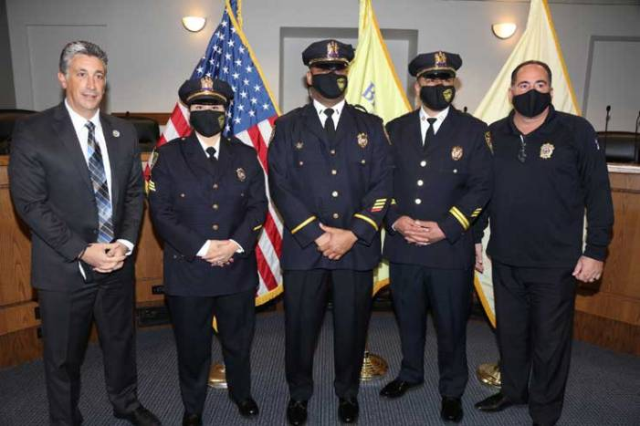 Belleville Police Dept. promotes first Latina, two others