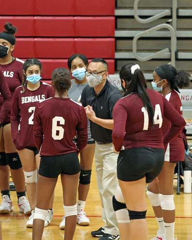 Bengals girls volleyball falls 2-1 to MKA