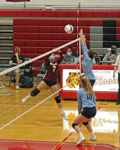 Bengals girls volleyball falls to MSDA