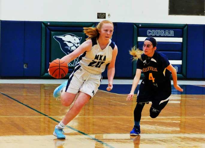All-around athlete from Nutley excels for the MKA Cougars