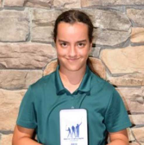 West Orange teen golfer places sixth in Drive, Chip and Putt Competition