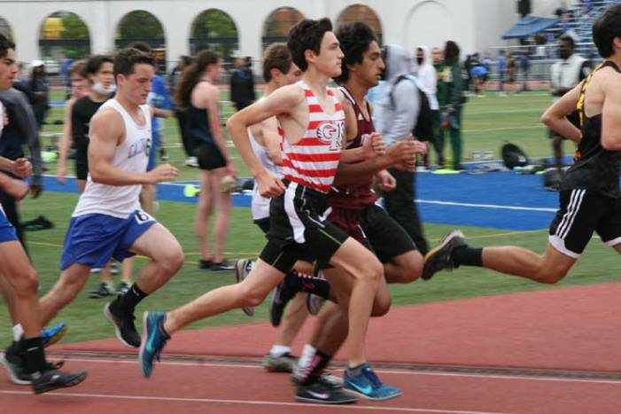 Ridgers track and field competes in Essex County championships