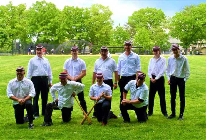 Kingsland Colonels defeat the Flemington Neshanock in old-timey game