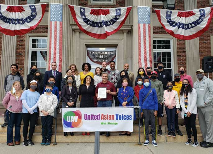 West Orange community stands in solidarity with AAPI community