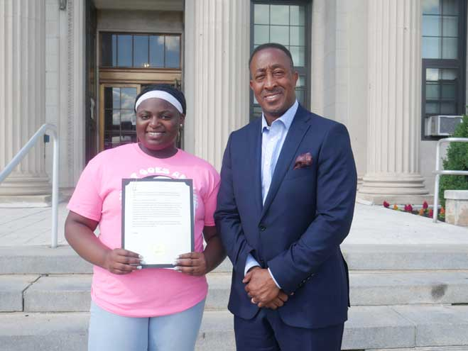 Winners announced for East Orange Father's Day Student Essay Contest