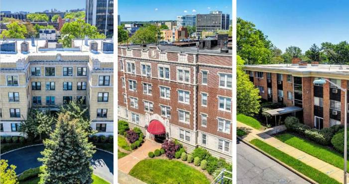 Three multifamily buildings marketed in East Orange