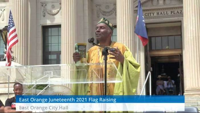 East Orange celebrates Juneteenth flag raising