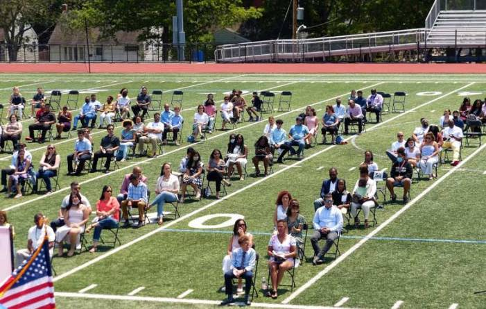 277 students graduate from Liberty Middle School
