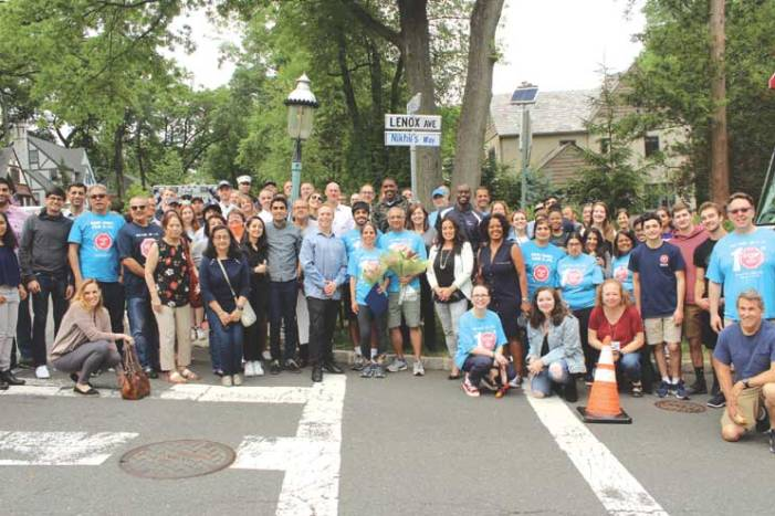 South Orange dedicates intersection to memory of Nikhil Badlani