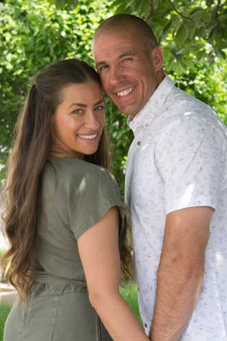Couple from Cranford and West Orange set a date