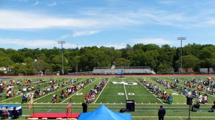 Roosevelt Middle School graduates 228 students