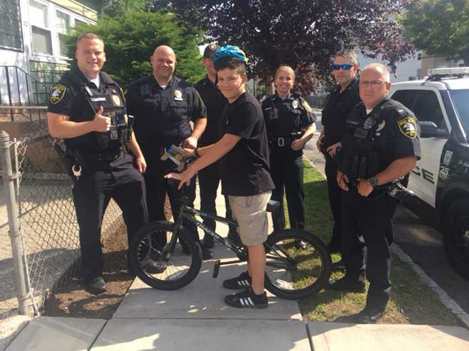 Theft investigation leads to act of kindness by West Orange's finest