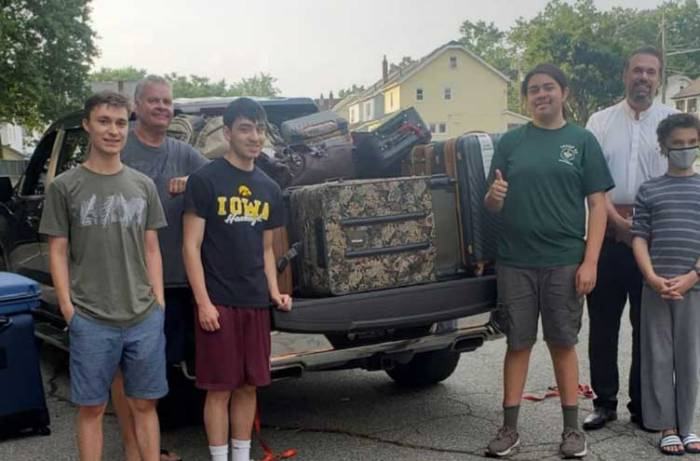 Furlong collects more than 100 suitcases for children in foster care