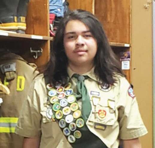 Local Boy Scout is collecting luggage for children exiting foster care