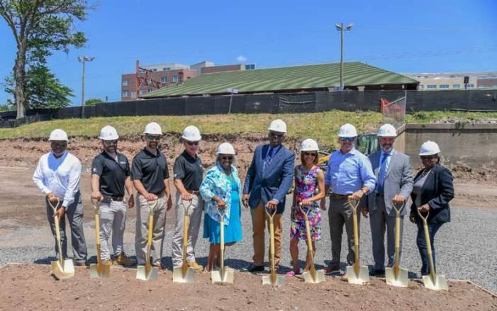 Mayor, developers break ground at future luxury apartments in Orange