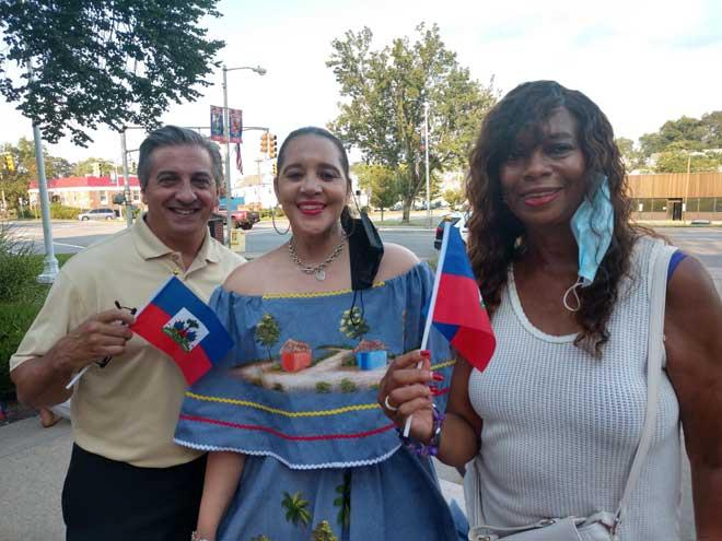 West Orange holds prayer vigil for Haiti at Town Hall