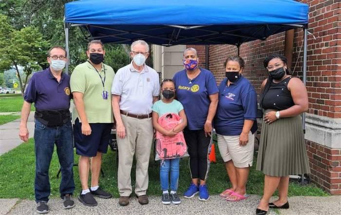 West Orange Rotary donates backpacks to area elementary schools