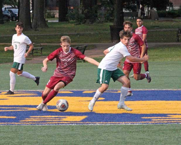 Bloomfield HS boys soccer drops tough 2-0 game to Livingston