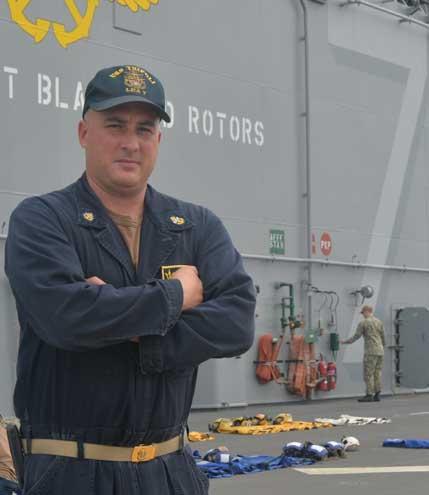 Bloomfield native, SHP grad serves aboard U.S. Navy's newest amphibious assault ship