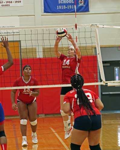 Bloomfield HS girls volleyball team is off to 2-0 start