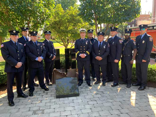 Maplewood community reflects on Sept. 11 terrorist attacks at ceremony