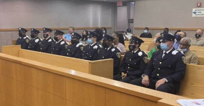 Nine officers sworn into Orange Police Department