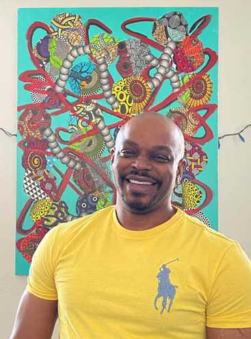 Mixed-media artist comments on COVID-19 and social justice in SOPAC exhibit