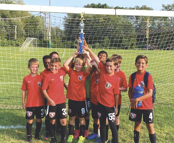 Cougar Soccer Club wins two titles at opening tournament