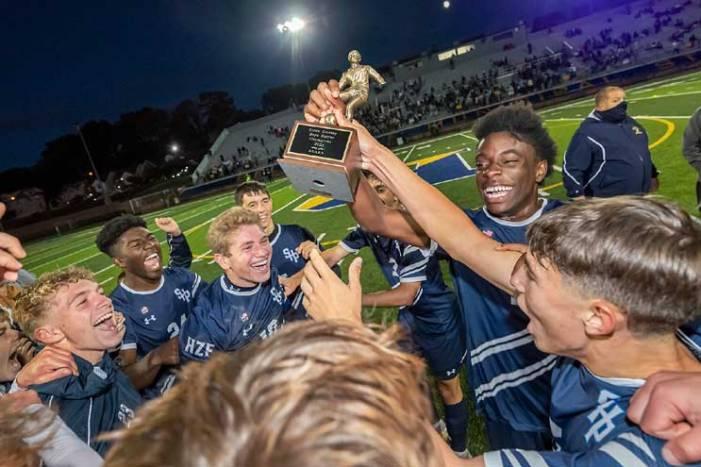 Seton Hall Prep soccer team defeats West Orange HS to win ECT championship