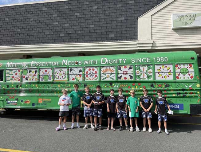 Millburn sports teams support Essex County food pantries