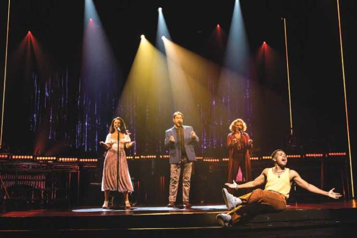 Be welcomed back to the theater with the splendid 'Songs for a New World'