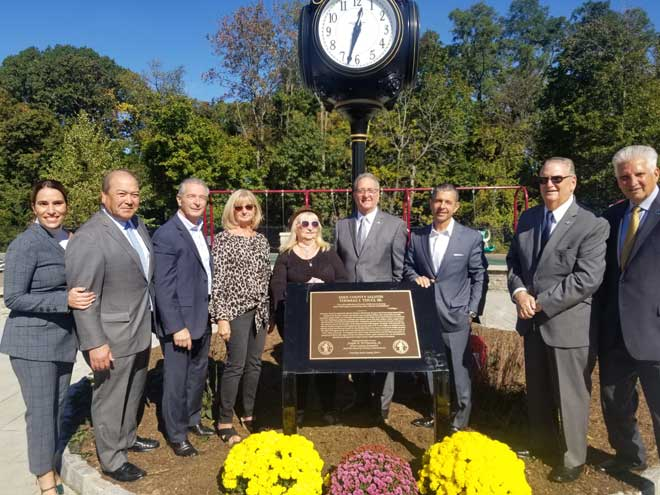 Cedar Grove playground renamed in honor of Nutley mayor's father