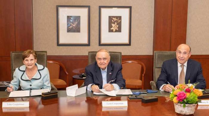 Saint Barnabas Medical Center receives $100 million from Cooperman family