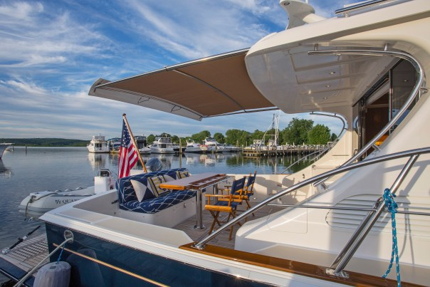 Eastbay 50 SX for sale by Essex Yacht Sales