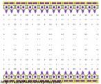 Crown fabric deisgn- Purple stones
