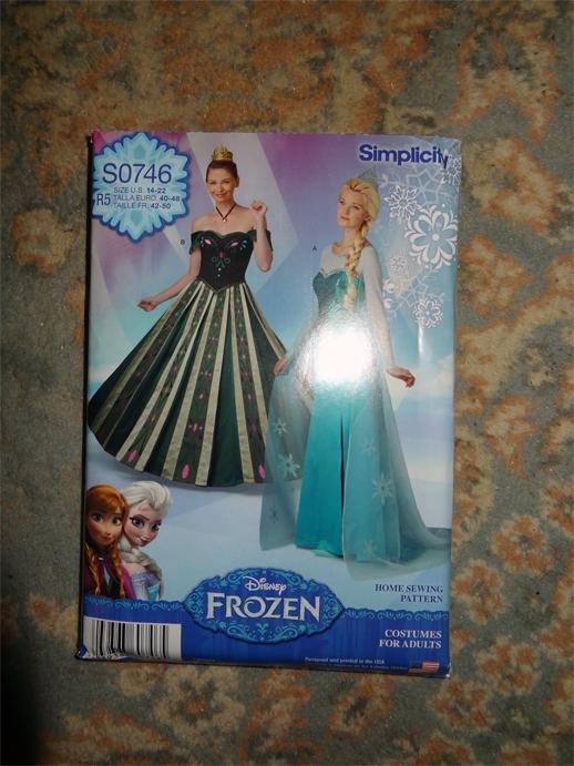 frozen adult pattern