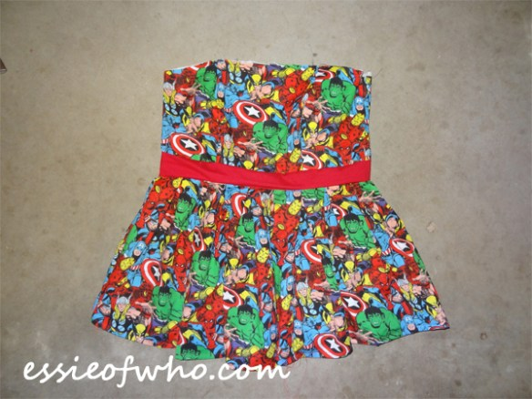marvelcomicdress